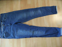H&M coole used look Jeans Gr. 42 NEUw.  BSu516