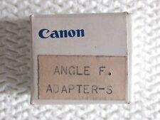 CANON F1. ANGLE F Adapter-S