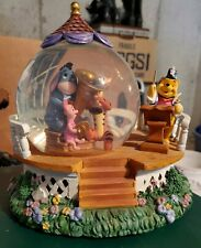 Disney Snow Globe Winnie the Pooh & Friends Orchestra Musical Music Band