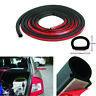 5M D-Type Auto Car Door Window Edge Rubber Weatherstrip Seal Strip Sealing Trim