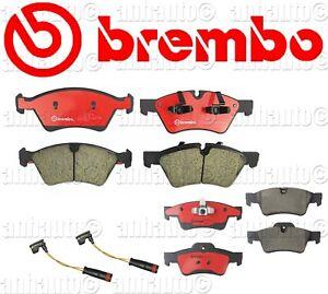 Brembo Front & Rear Brake Pads CERAMIC with sensors Mercedes GL ML R