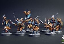 Tzaangors 10men unit  - age of sigmar  ** COMMISSION **  painting