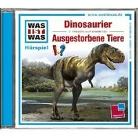 """WAS IST WAS """"FOLGE 08: DINOSAURIER/AUSGESTORBENE TIERE"""" CD HÖRBUCH NEU"""