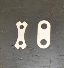 Norton Commando Rear Brake Pin Saddle14454 & locking tab Washer 14506 Stainless