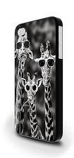 Giraffe Sungalsses Funny Cover Case for iPhone 4/4s 5/5s 5c 6 6 Plus