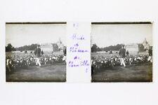 France Chateau de Chantilly Chiens Photo Plaque P45L4n17 Verre stéreo positive