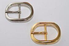 Gürtelschnalle Schnalle Schließe für ca. 30 mm Breite, Silber / Gold, rostfrei