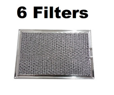 (6 Pack) Frigidaire Grease Oven Microwave Filter 5303319568 5 X 7-5/8 X 3/32