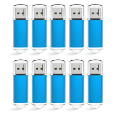 10 Lots 16GB USB Flash Pen Drives USB 2.0 Memory Stick Rectangle Shape Thumb