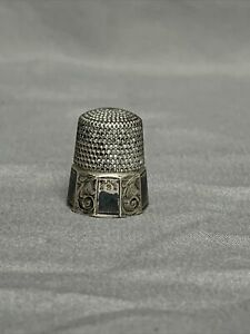 Sterling Silver Thimble, Size 9