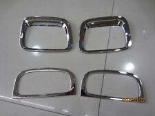 Chrome Front Rear Fog Light Cover trim for 2013-2014 KIA Sorento Light