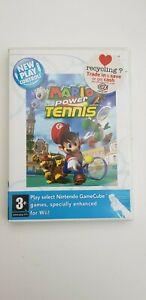 Mario Power Tennis (Nintendo Wii, 2009). Free UK Postage