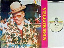 REGGAE LP: YELLOWMAN Duppy or Gunman JAH GUIDANCE VPRLP 009 (Jamaican pressing)