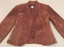 Women's PP Jones New York Brown Suede Jacket