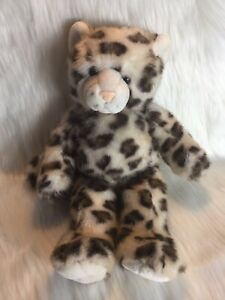 Build A Bear: Sparkly Soft Snow Leopard. BAB Workshop 18 Inches Retired