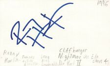 Renny Harlin Director Cliffhanger Die Hard 2 Movie Autographed Signed Index Card