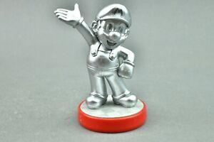 Amiibo Silver Mario Nintendo Figure