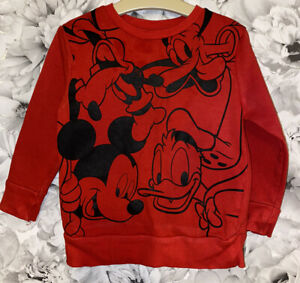 Boys Age 18-24 Months - Mickey & Friends Sweater Top
