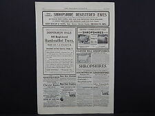 The Breeder's Gazette, Nov. 28, 1906, One Advertising Page, Double Sided #08