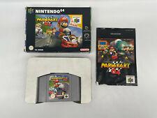 Mario Kart 64 in OVP mit Anleitung für Nintendo 64 N64