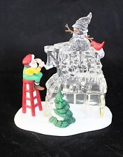 "Department 56, North Pole, ""A Busy Elf"" North Pole Sign"