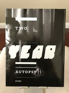 Two Year Autoposy Grime Tattoo Book RARE 1st Edition - Ed Hardy Sailor Jerry AWR