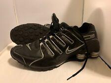 Nike Shox Black Flint Grey Silver Shoes Mens Size 11.5 Rare
