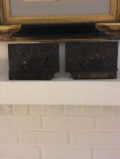 """Pompeian Bronze """"Glory� (early casting) Bookends"""