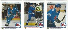 6 1990-91 UPPER DECK HOCKEY QUEBEC NORDIQUES CARDS (LAFLEUR/CIRELLA+++)
