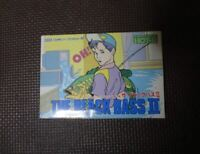 New ! The Black Bass 2 / FC NES Nintendo Famicom software Japanese version