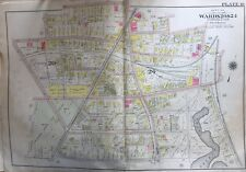 1904 DORCHESTER, BOSTON MA, CHRISTOPHER GIBSON PLAYGROUND, COPY PLAT ATLAS MAP