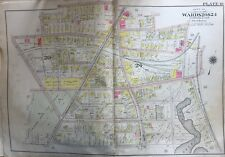 ORIG 1904 DORCHESTER, BOSTON MA, CHRISTOPHER GIBSON PLAYGROUND, PLAT ATLAS MAP