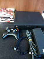 Microsoft Xbox 360 Elite 120 GB Black Console Bundle - 7 Games - Tested