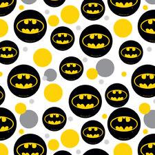 Batman Classic Bat Shield Logo Premium Gift Wrap Wrapping Paper Roll