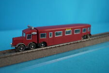 "Marklin 3124 SNCF Rail Bus ""Micheline"" RED OVP"