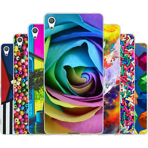 Dessana Colourful TPU Silicone Protective Case Pouch Cover For sony