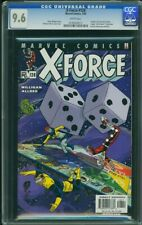 X-Force (2002 Marvel) #128 CGC 9.6 NM+ Death Of U Go Girl and Spike