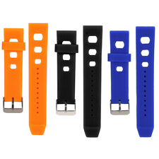 20mm Replacement Silicone Wristband Strap Watch Band Repair Tool for Watchmakers