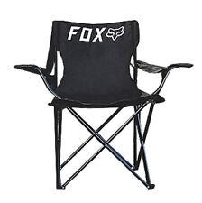 Fox Racing Unisex GWP Folding Chair Black Beach Summer Outdoor Camping