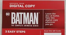 Batman: The Complete Animated Series (2018) DIGITAL CODE