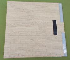 """Beiges 12"""" Schallplattenalbum für 16 Langspielplatten,Vinyl,Record Case,70er"""
