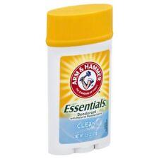 Arm & Hammer Essentials Deodorant, Clean, 2.5 oz