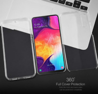 360 Shockproof Bumper Clear Case Silicone Cover for Samsung Galaxy A20E