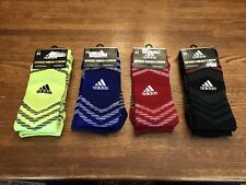 Lot of (4) pairs Adidas Speed Mesh Crew Socks Climalite, Compression,  Size M 🔥
