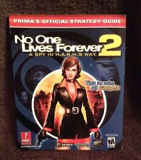 No One Lives Forever 2 - A Spy in H.A.R.M's Way Strategy Guide - Official Prima