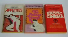 Erotica Erotic Cinema stories fiction the kama sutra sequel VINTAGE PB BOOKS LOT