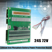 72V 50A/150A BMS PCM 24S  LiFePO4 LimPO4 Battery Protection Board W/ Balance