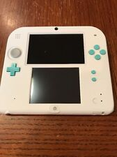 Nintendo 2DS Sea Green and White Handheld Video Game System
