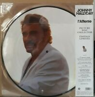 Rare LP Johnny Hallyday - L'attente - Picture disc - Neuf Scellé ( Mint Sealed )
