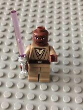 Star Wars LEGO MINIFIG Minifigure sw220 MACE WINDU CLONE WARS 7868 8019